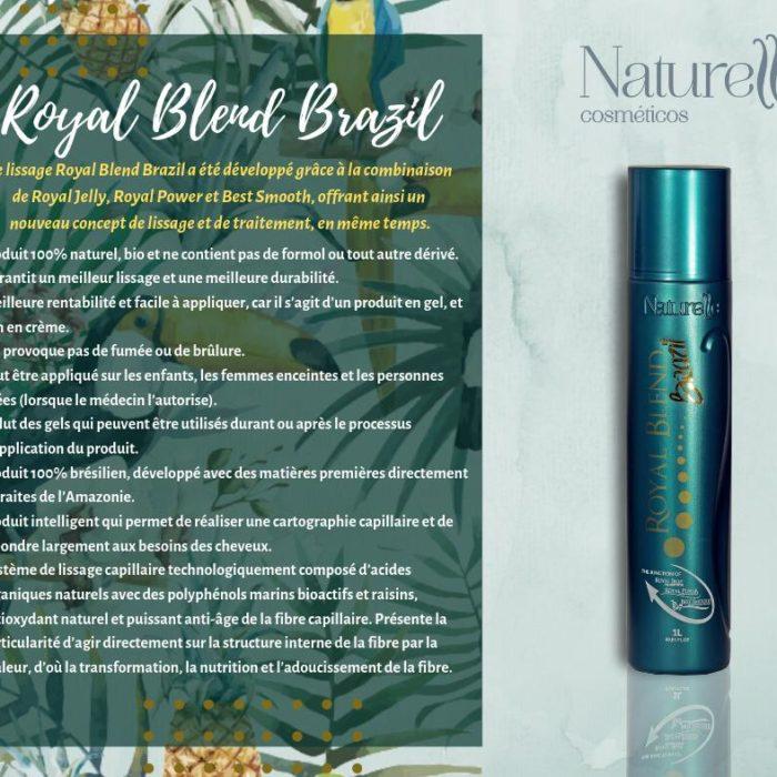 ROYAL BLEND BRAZIL Dernière Technologie Naturelle Cosmeticos