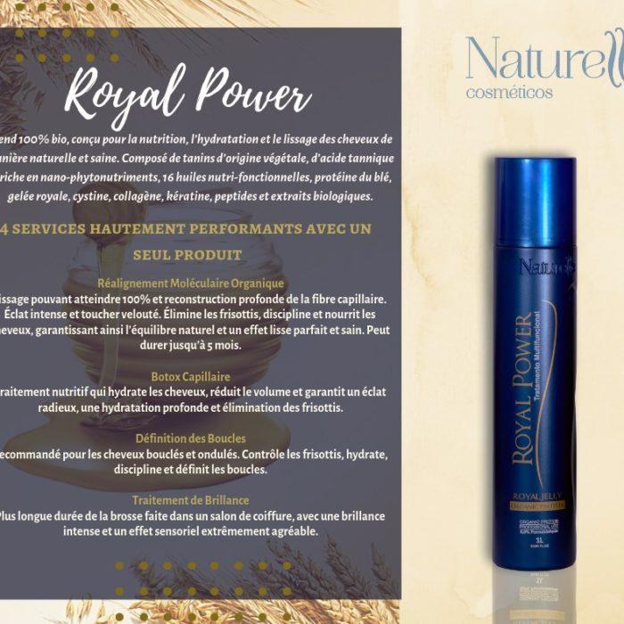 ROYAL POWER Classique Taninoplastie pour cheveux naturels et colorés