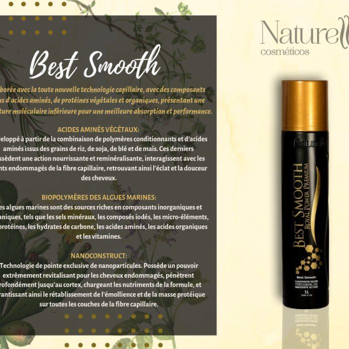 ROYAL POWER Premium Best Smooth Taninoplastie et Enzymothérapie pour tout type de cheveux même décolorés